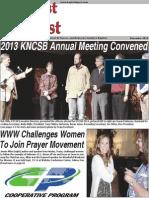 Baptist Digest November 2013