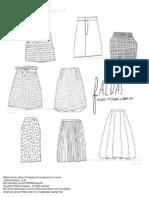 El Lenguaje de Los Patrones en La Moda Faldas