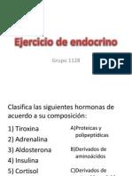 Ejercicio de Endocrino