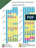 Calendário Escolar 2013