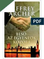 Jeffrey Archer - Első az egyenlők között