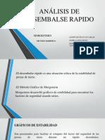 Analisis de Desembalse Rapido