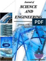 Journal of Science and Engineering-Volume 1
