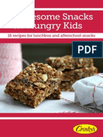Crosbys- Healthy Snacks (AUG 2013)
