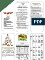 B5, Leaflet Gizi (Diet DM)
