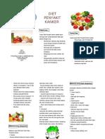 B5, Leaflet Diet Kanker