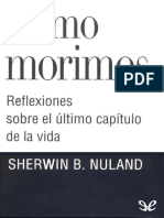 Como Morimos de Sherwin B Nuland