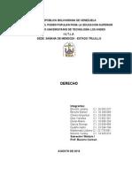 Informe de Derecho Tercer Tema