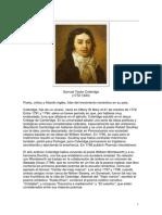 Coleridge, Samuel Taylor - Biografia