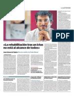 Entrevista a Juan Gómez de Tojeiro, coordinador de la UDC de las Hermanas Hospitalarias en Santander