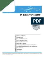 Manual Sp3410