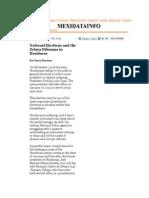 The Honduran Elections and the Zelaya Dilemma .pdf