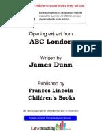Lovereading4kids-ABC London by James Dunn