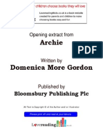Lovereading4kids-Archie by Domenica More Gordon