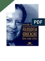 niskier, arnaldo. filosofia da educação