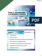 Tema 1_Introduccion a la Mecánica Cuántica