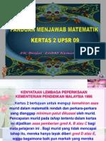 Pemeriksaan Kertas 2 UPSR 2009 SKB.ppt