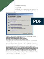 Reparar Inicio Arranque Sistema de Windows 7