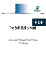 Lean Manufacturing Implementation Challenges