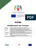 """Séquence pédagogique """"Conférences sur l'ozone"""" du dispositif Chain Reaction"""