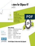 What's in Store for DSpace 4? Poster