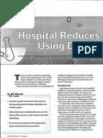 Hospital Reduces Medication errors Using DMAIC
