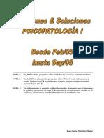 140405987-PSICOPATO I 12 EX SOL (Mejorado) Examenes y Soluciones