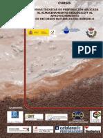 Curso Perforación aplicada al almacenamiento geológico