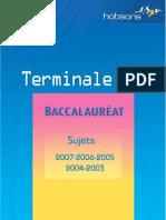 Annales Terminale ES