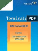 Annales Terminale S