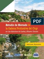 Estudio de Mercado de La Cadena Productiva Del Cuy