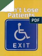 Don't Lose Patients