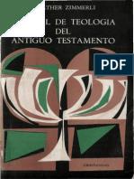 106747208 Zimmerli Walther Manual de Teologia Del Antiguo Testamento