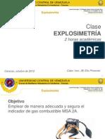 Explosimetria Cbvucv C1 E Pimentel