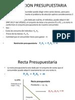 RESTRICCION PRESUPUESTARIA 3 - PROYECTO 2.pptx