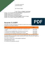 Ssecurisation de Xampp
