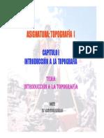 CAP1 INTRODUCCION TOPOGRAFIA