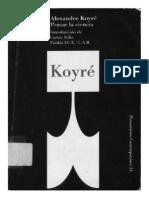 Alexandre Koyré - Pensar la Ciencia