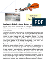 Aguinaldo Ribeiro deve deixar ministério