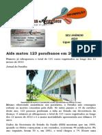Aids Matou 123 Paraibanos Em 2013