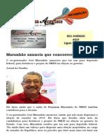 Maranhão anuncia que concorrerá à Câmara