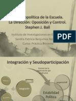 Benjumea-Presentacion Ball, S. La Dirección Oposición y Control