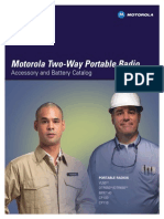 Motorola DTR650 Accessory Catalog
