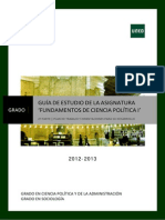 GuiaII_FundamentosdeCienciaPolíticaI_2012-2013