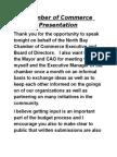 Chamber of Commerce Presentation.doc