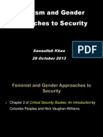 Feminist and Gender Apchs to Security 29 Oct 13 Final
