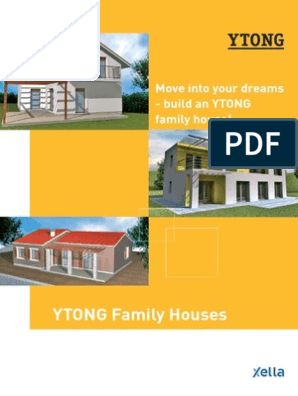 YTONG Family Houses: Move into your dreams - build an YTONG