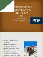 El Metodo en La Investigacion Cientifica