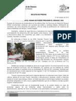 28/10/13 Germán Tenorio Vasconcelos recomienda Sso Acciones en El Hogar Para Evitar Dengue