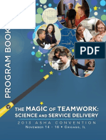 2013 ASHA Convention Program Book